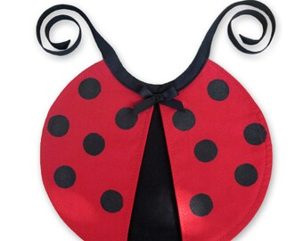SEWING PATTERN ONLY - Little Ladybug Bib - Infant Baby Toddler Size
