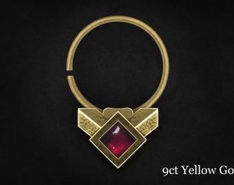 white gold nose ring, gold septum ring, septum gold, septum piercing, nose ring hoop, helix earring, piercing helix, gold nose ring, tragus