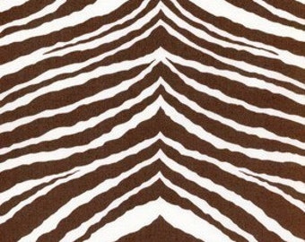 Flower Power Brown - Jennifer Paganelli - Zebra JP29 OOP - Sold by the Half Yard