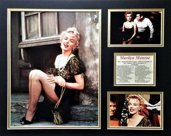 Marilyn Monroe Matted Filmography