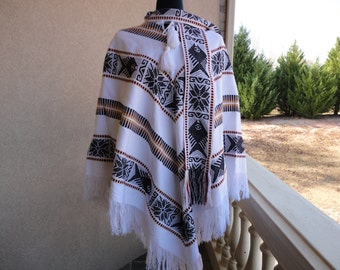 Hand Made Vintage Poncho
