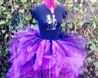 Bustle Steam Punk Hi Low Tutu You Pick the Color Extra Fluffy