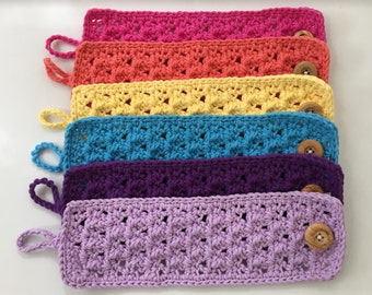 On sale - Lacy Crochet Mug Cozy - 3 for 20 for a limited time