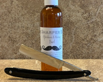 "Vintage 5/8"" SP The Bancroft Razor Co. BANCROFT razor Shav Ready Made In USA"