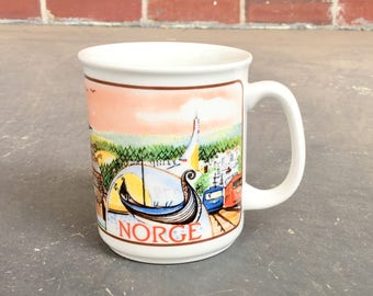 Vintage Figgio Norway Mug