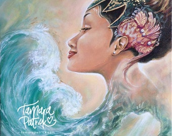 Water is my Goddess Spiritual Painting