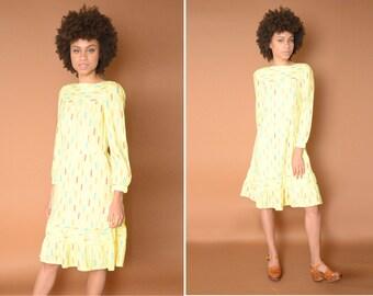 Yellow Confetti Dress