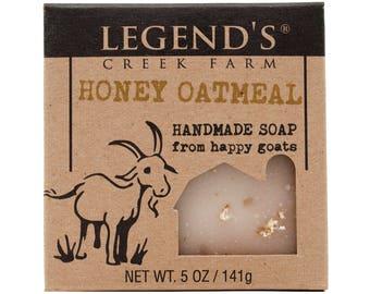 Honey Oatmeal Goat Milk Soap