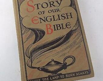 Vintage - The Story of the English Bible - Walter Scott Illustrated Hardback