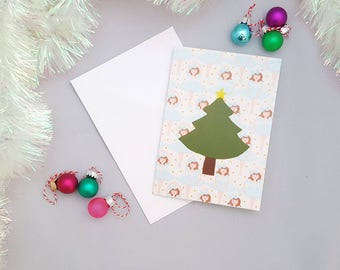 Christmas Tree Christmas Holiday card