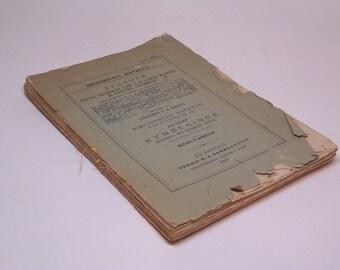 1903 Shakespeare's Cymbeline (Κυμβελίνος) in Greek