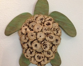 Custom Made Driftwood Turtle