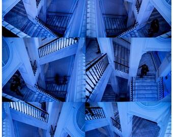 Escher inspired montage
