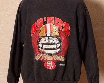 Vintage 90s San Francisco 49ers Sweatshirt - IN YOUR FACE
