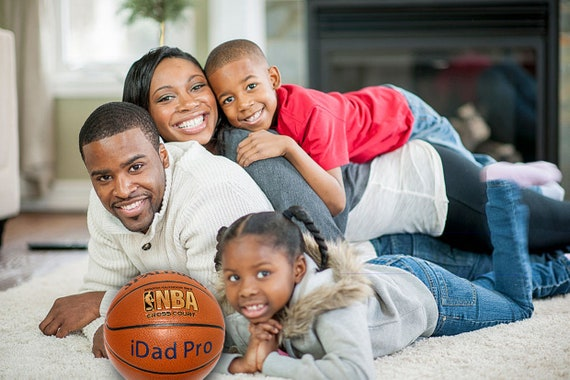 Customized Personalized Basketball Spalding Indoor/Outdoor Official Size Father's Day Gift