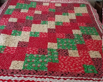 Christmas Bed Quilt