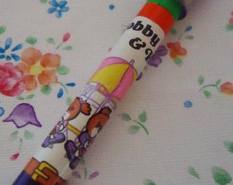 Bobby & Kate Multicolor Pencil. Japan.1981.