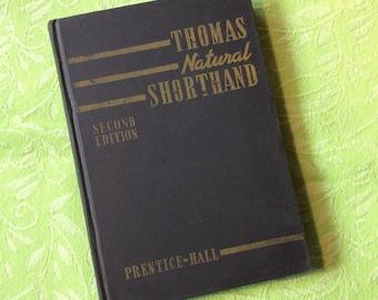 Thomas Natural Shorthand book / 2nd editon