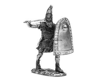 tin 54mm Persian Warrior 1:32 Scale Miniature