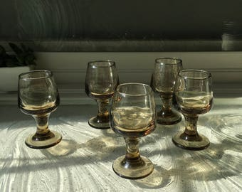 Vintage miniature small drinking cups
