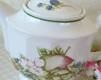 Vintage English Teapot by Churchill China of England Numbered Collectable