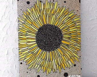 24in x 18in Sunflower Painting