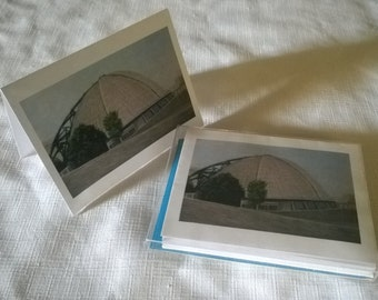 Waiting For The Next Event-Igloo, Civic Arena Pittsburgh by J. Renner Color Blank Notecards Boxed set of 5-Free US Shipping