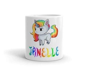 Janelle Unicorn Mug