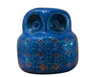 Italian ceramic owl by Bitossi