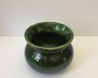 Ungemach, UPCO Planter.  Green. Made in USA