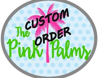 Custom Made Tumbler of you Choice