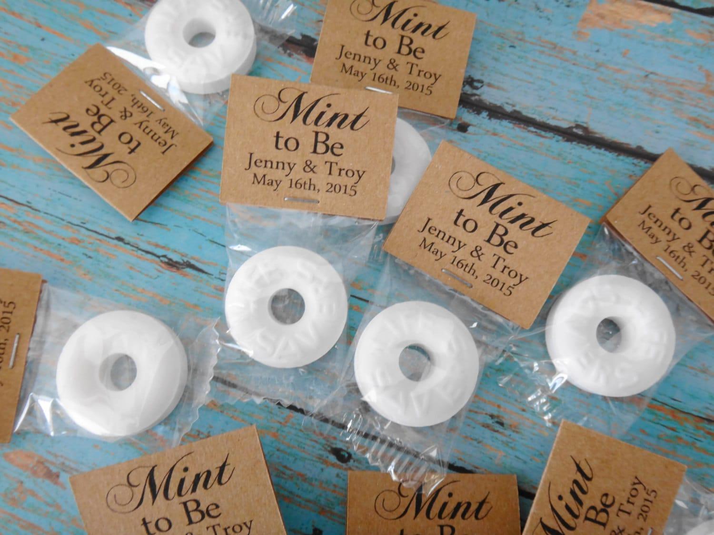Mint To Be Wedding Lifesaver Favors Mint Wedding Favors