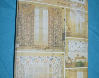 Simplicity 9606 Window Treatments Sewing Pattern - UNCUT -