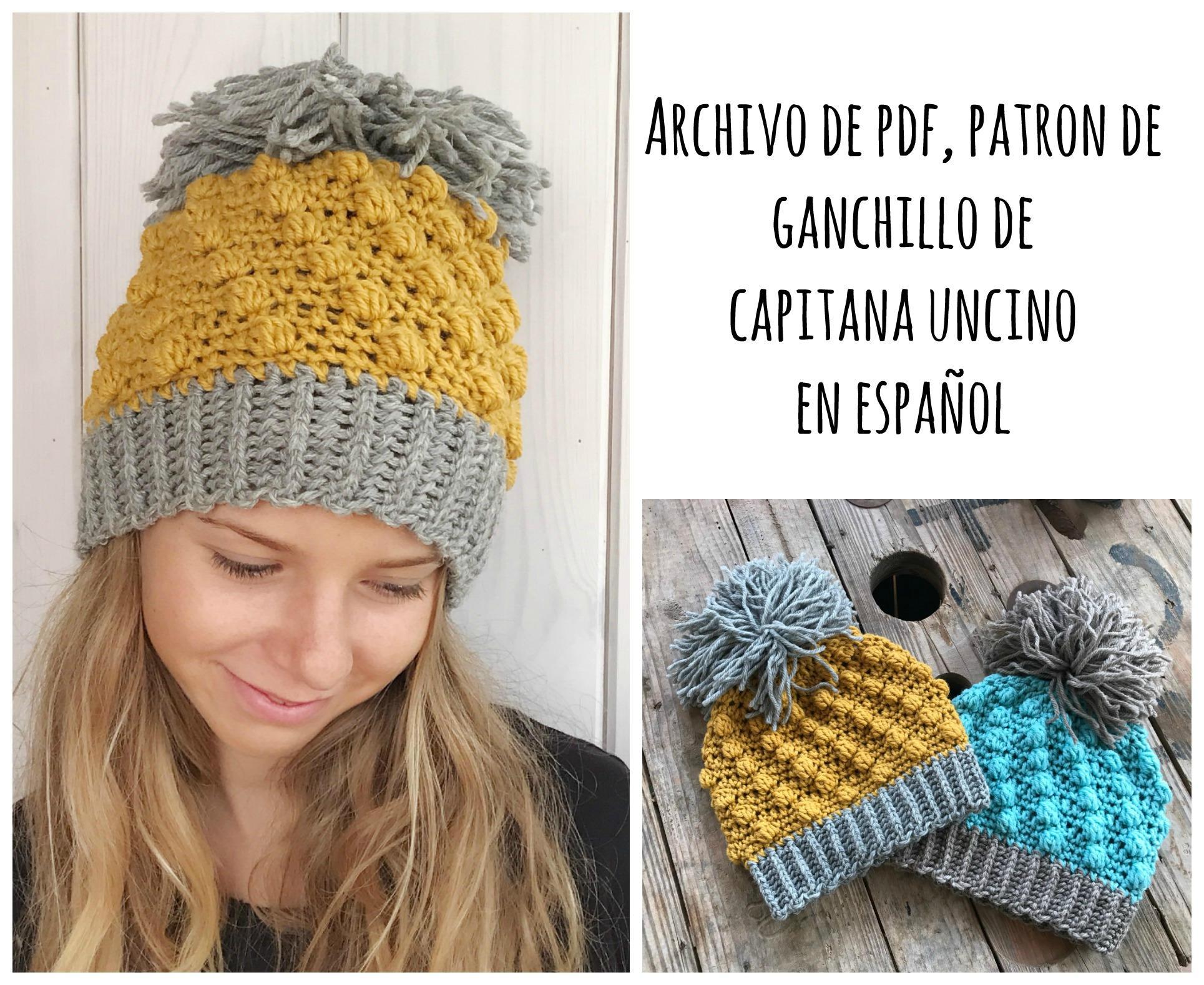 Moderno Patrón De Sombrero De Ganchillo Con Barba Friso - Ideas de ...