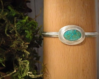 Warrior Woman Turquoise Cuff