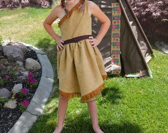 Pocahontas Costume, Girls Princess Pocahontas