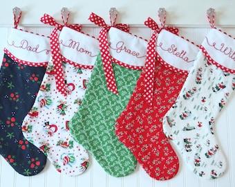 Christmas Stockings, Personalized Christmas Stockings, Monogrammed Stocking, Personalized Christmas, Farmhouse tadacreations TaDa Creations