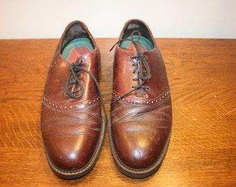 Size 10,Leather Wingtips,men dress shoes.men brown dress shoe,men oxfords 10,mens wingtips,size 10 wingtips,oxfords 10,leather wingtips