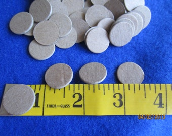 3/4 Inch Chipboard Circle Die Cuts - Circles Blanks -Unfinished - Decoration-Raw Chipboard Circle Shapes