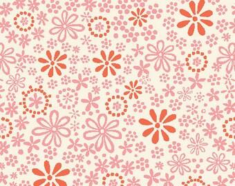 Organic Cotton Fabric, Monaluna, Raaga in Embroidery, by the half-yard