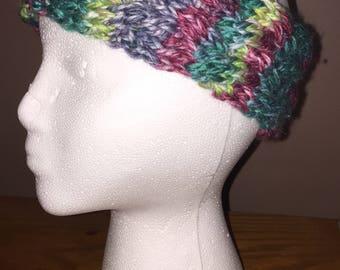 Chunky Braided knit ear warmer
