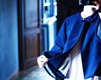 Blue Navy oversize Coat