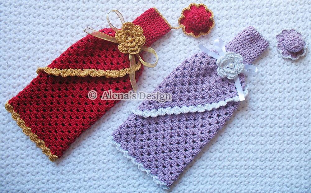 Crochet Pattern 121 Crochet Wine Bottle Cover Pattern 750 Ml