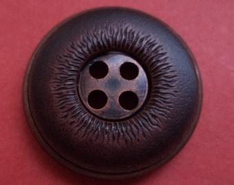 12 buttons dark brown 20mm (987) button