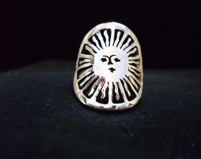 sun ring quarter size