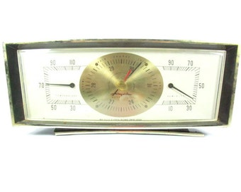 Weather Station and Airguide Barometer, Thermometer, Barometer,