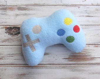 Nerd Baby Gift, Plush Toy, Game Controller, Video Game Control, Stuffed Baby Toy