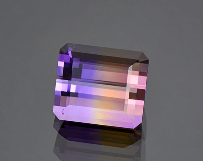 Spectacular Bi-Color Ametrine Gemstone from Bolivia 14.50 cts.