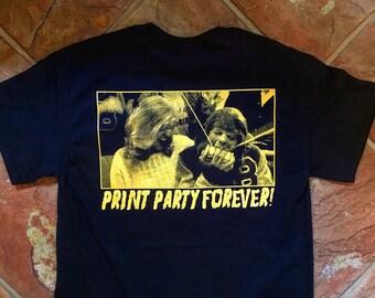 TEEN WOLF // City fox print shop shirts