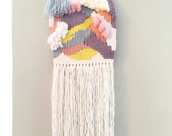 Pastel weaving (small)